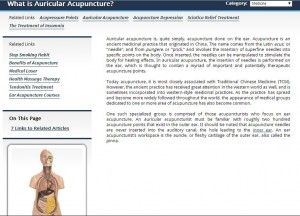 Auricular Acupuncture