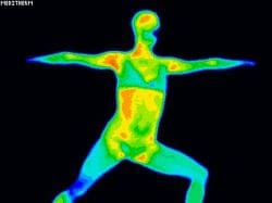 Thermography While Doing Yogo