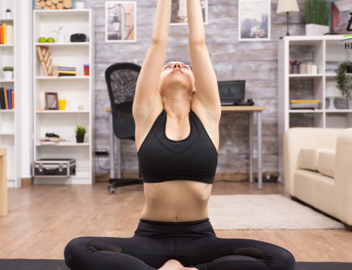 Stay Home and Practice Yoga for Stress Relief