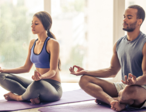 Yoga Class:  4 Ways Yoga Can Help with Stress and Anxiety